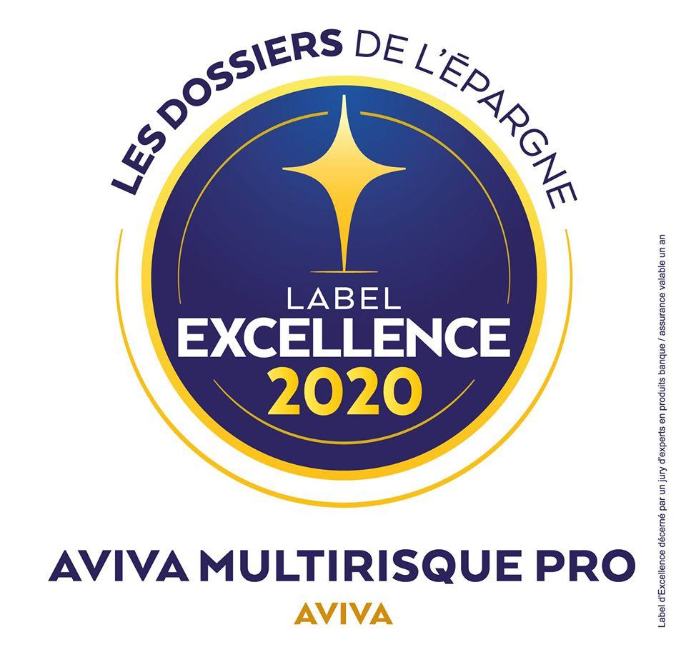 Label d'Excellence 2020 des Dossiers de l'Epargne