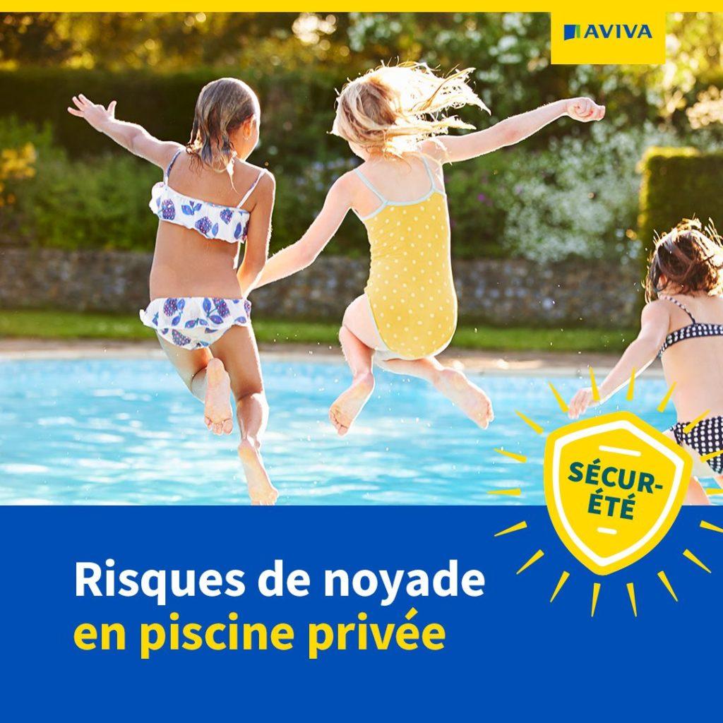 Risque de noyade en piscine privée